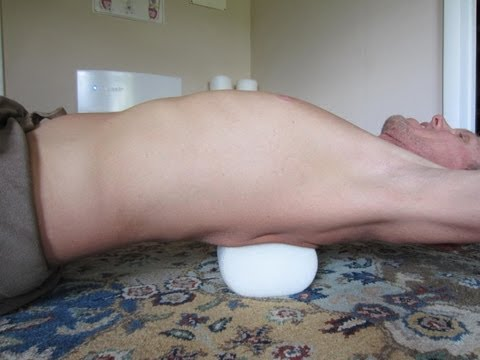 Chiropractic Adjustment Back CRACK!