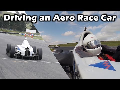 200kg Downforce @ 180kmh   Driving the Thomsen Motorsport Full Aero Formula Vee!