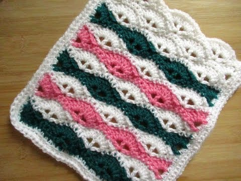 Crochet Baby blanket tutorial or ANY size - shell stitch Happy Crochet Club