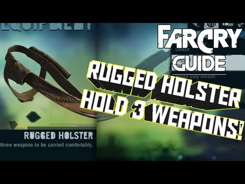 How To Make The Rugged Holster - Far Cry 3