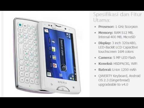 Harga HP: SONY Ericsson Xperia Mini Pro