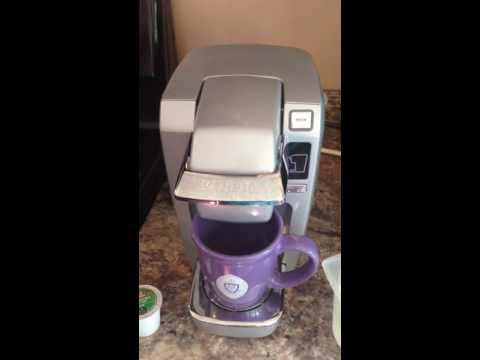 Keurig K15 coffee brewing review and instructions