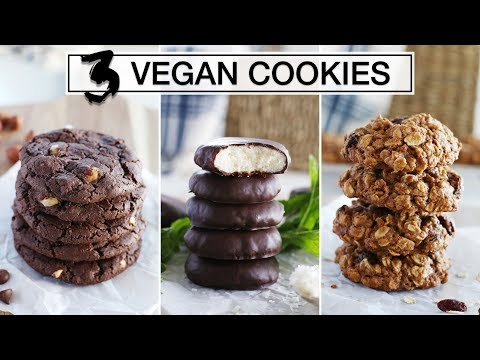 3 EASY VEGAN COOKIE RECIPES | Fablunch