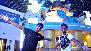 BIGGEST indoor Theme Park In The World w/ Silento,  Mo Vlogs, & Adam Saleh