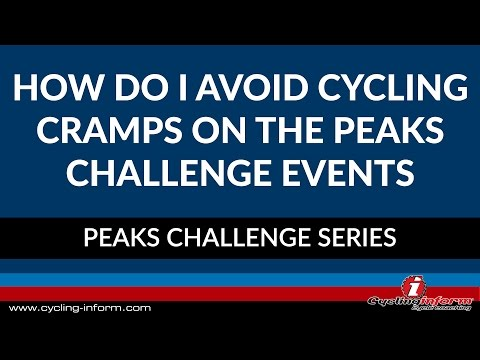 How Do I Avoid Cycling Cramps On The Peaks Challenge Events?