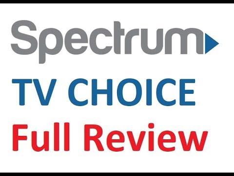 spectrum tv choice review demo