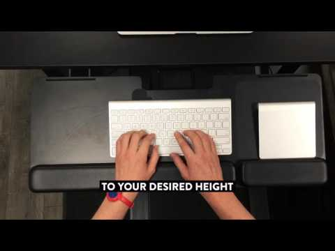 MultiTable® Articulating Keyboard & Mouse Tray HD