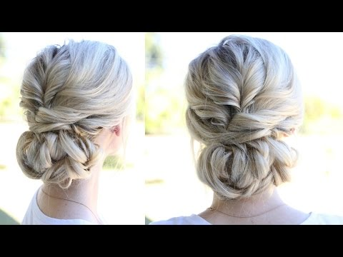 Topsy Tail Updo and Looped Bun