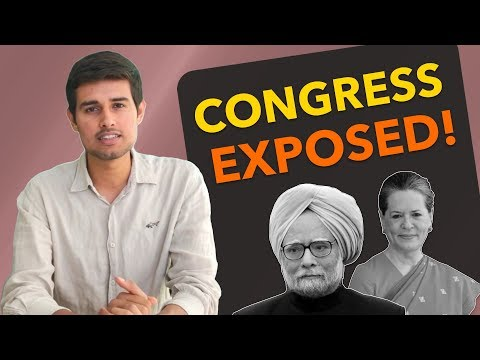 10 yrs of Congress govt. Analysis by Dhruv Rathee