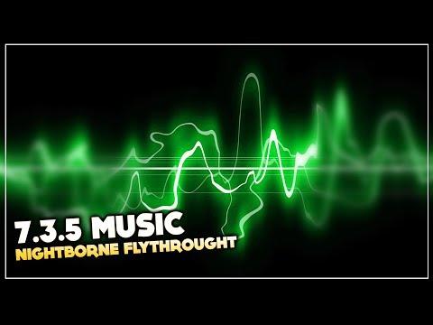 [#MUSIC 7.3.5] Allied Race Nightborne Flythrought   World of Warcraft: Legion Soundtrack