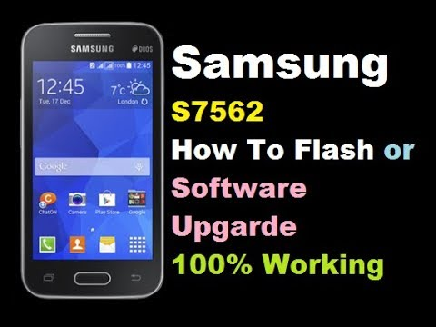 samsung s7562 how to flash or software update