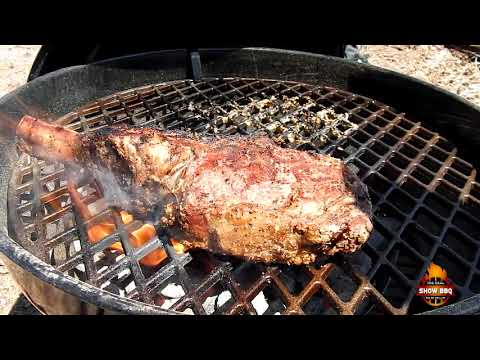 How to Reverse Sear Wagyu Tomahawk on the Members Mark Kettle Grill