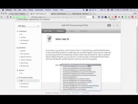 Part 1: Preparing Certificates + Provisioning Profile (iOS)