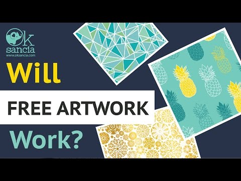 Can You Use Free Vector Art For Products Design and Manufacturing Commercial Products For Sale?