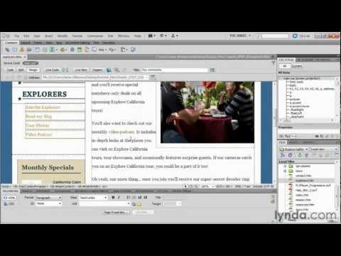 Dreamweaver full tutorial part 5.hd
