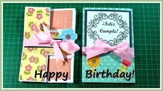 En este vídeo les enseño a hacer dos tipos de tarjeta que puedes regalar en cualquier celebración o  cualquier ocasión. Le deseo un feliz cumpleaños a  Ernesto, gracias por todos estos años de amistad, que lo pases super bien en tu cumple, que Dios te bendiga y te cumpla todos tus deseos. --------------------------------------------- Si te gustó el vídeo dale like, subscríbete a mi canal, deja un comentario, da click en favoritos y comparte este vídeo. --------------------------------------------- Sígueme en: Twitter: @yamiy27 http://www.twitter.com/yami27  @craftsvideos507 http://www.twitter.com/craftsvideos507 Instagram: yamiy_27 http://www.instagram.com/yamiy_27 Ask: yamiy27  http://www.ask.fm/yamiy27 tumblr: yamiy27 http://www.tumblr.com/blog/yamiy27 -------------------------------------------- Todos mis videos: http://www.youtube.com/user/yamigonzalezpty/videos video anterior:https: //www.youtube.com/watch?v=90EBjUxsbhs