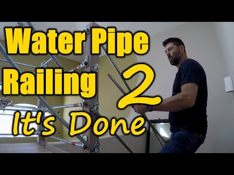 How To Build a Water Pipe Railing 2 | THE HANDYMAN |