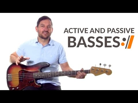 Active and Passive Basses