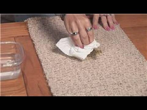 Stain Removal Tips : How to Clean Up Vomit