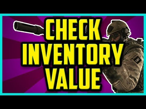 How To Check Your CSGO Inventory Value 2017 (QUICK & EASY) - CSGO Inventory Worth Checker