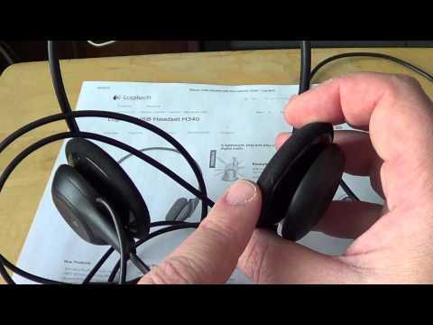 Logitech H340 USB Headset review