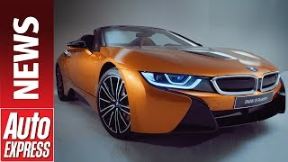 New BMW i8 Roadster - hybrid sports car gets convertible option