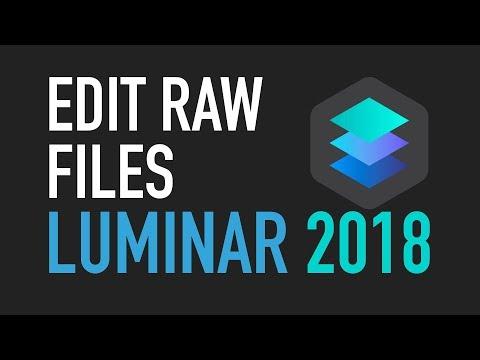 Luminar 2018 – Edit camera raw files in Luminar for Mac