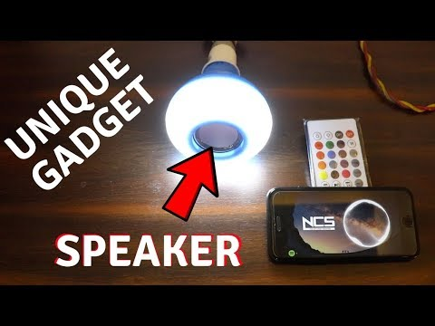 LED Bulb With Bluetooth Speaker | Unboxing & Review | Tech Unboxing 🔥
