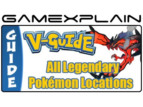 Pokémon X & Y - All Legendary Pokémon Locations (Guide & Walkthrough)