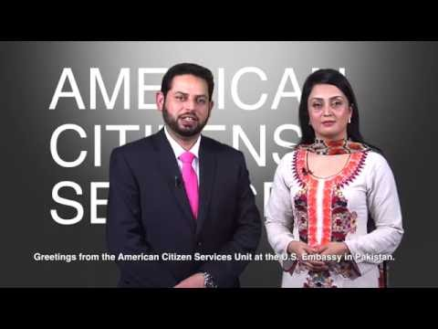 American Citizens Services: Registering A Birth Abroad