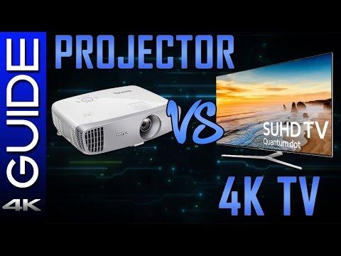 Should You Buy a Projector? - TV vs Projector