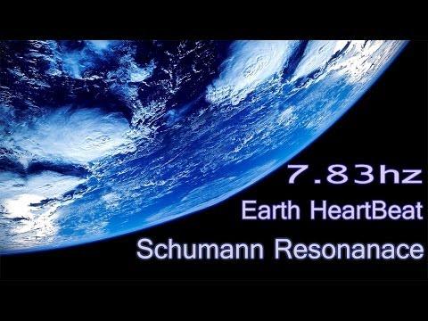 ~ Schumann Resonance - Connect To Earth Rhythm ~  7.83hz Theta Binaural Beats   Healing Nature Music