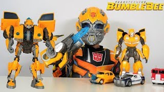 Download BIGGEST Transformers Bumblebee Movie Toy Collection Unboxing With Ckn Toys Video