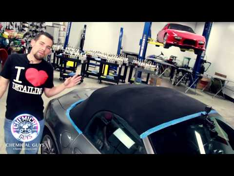 How To Clean and Protect Convertible Tops - Chemical Guys