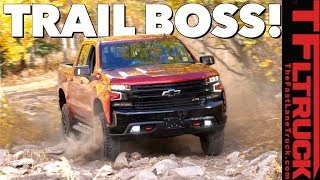 Download Will the 2019 Chevy Silverado TrailBoss Conquer the Cliffhanger 2.0 Trail Video