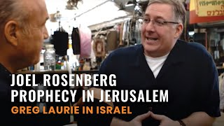 Joel Rosenberg, FULL Prophecy IN Jerusalem Interview (Greg in Israel #4)