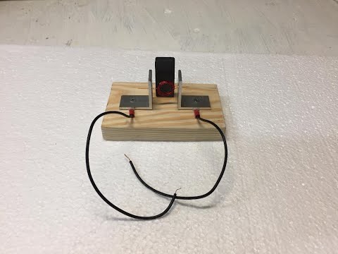 Simple electric motor kit/science project for child. For sale.