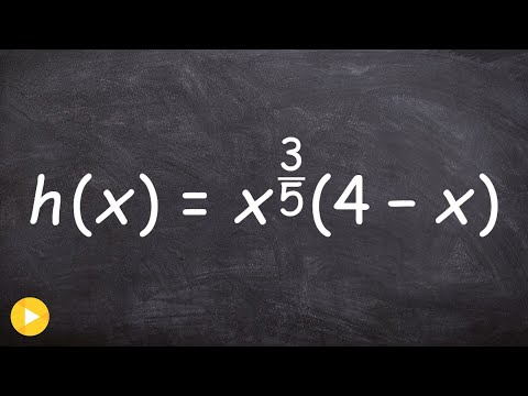 Learn how to find the critical values of a function
