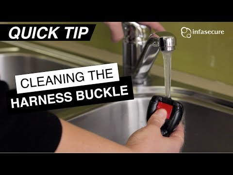 QuickTip: Cleaning the Harness Buckle
