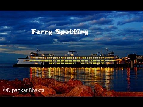 30mins+ Washington Heavy Transport Ferry Spotting+loading ,unloading operations timelapse