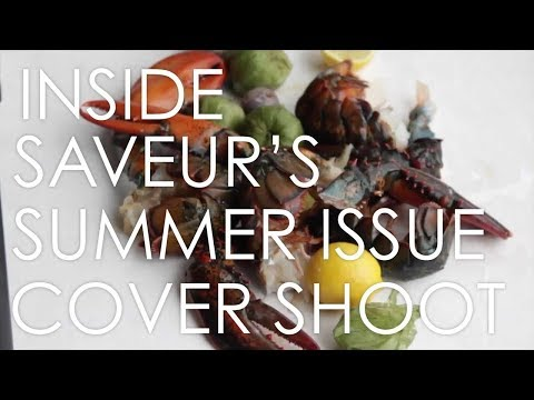 Inside a Saveur Magazine Cover Shoot
