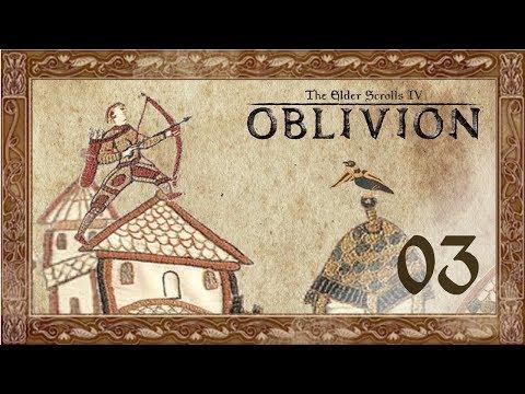 Let's Play Oblivion (Modded) - 03 - Arthur gets a job