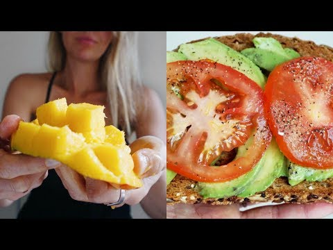 WHAT I ATE TODAY | THE VEGAN 5