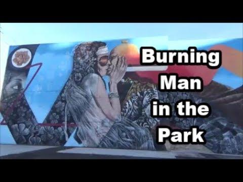 Burning Man at Reno Playa Art Park in Reno, Nevada - Road Trip Vlog 24