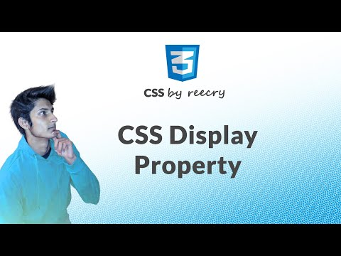 Display Properties in CSS in Hindi | Create Menu Bar Using Display Property
