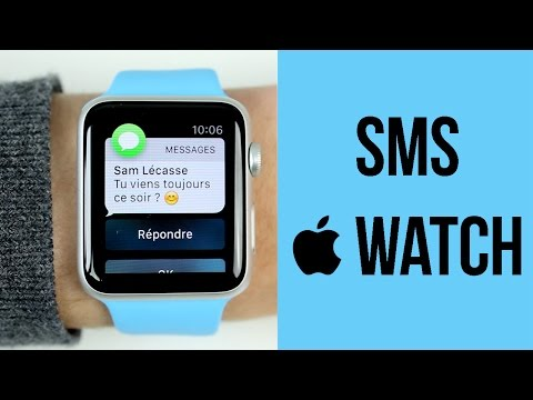 Apple Watch : Les Messages et notifications