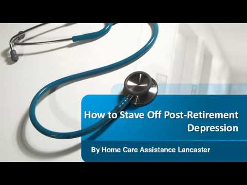 How to Stave Off Post-Retirement Depression
