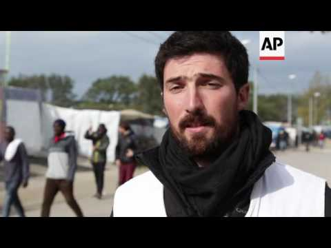 Teenage migrant in Calais dreams of life in UK