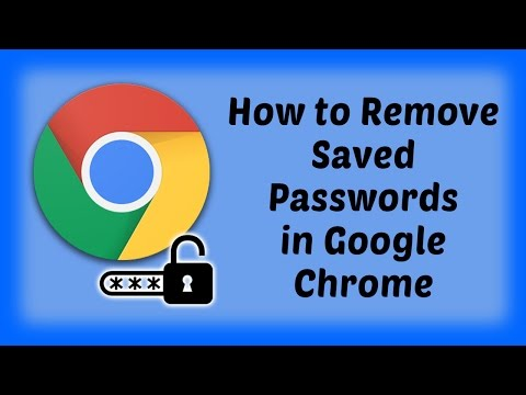 How to Remove Saved Passwords in Google Chrome Browser | Hindi Video | Google Chrome Tutorials