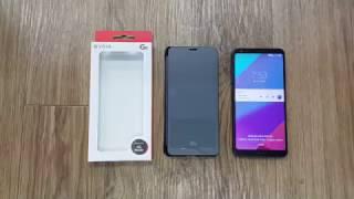 [funmoa.com] LG G6프리미엄 퀵커버 케이스 (티타늄 블랙)